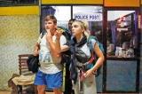 Stranded tourists