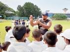 K.G. Priyantha nurturing future Cricket stars in the UAE