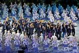 Lankan stars march in glittering Asian Games parade