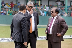 Minister Musthapha travels to Dubai for do-or-die talks with the ICC