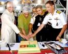 Reception on board PMSS Kashmir