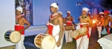 Give ear to the different beats as the perahera passes by