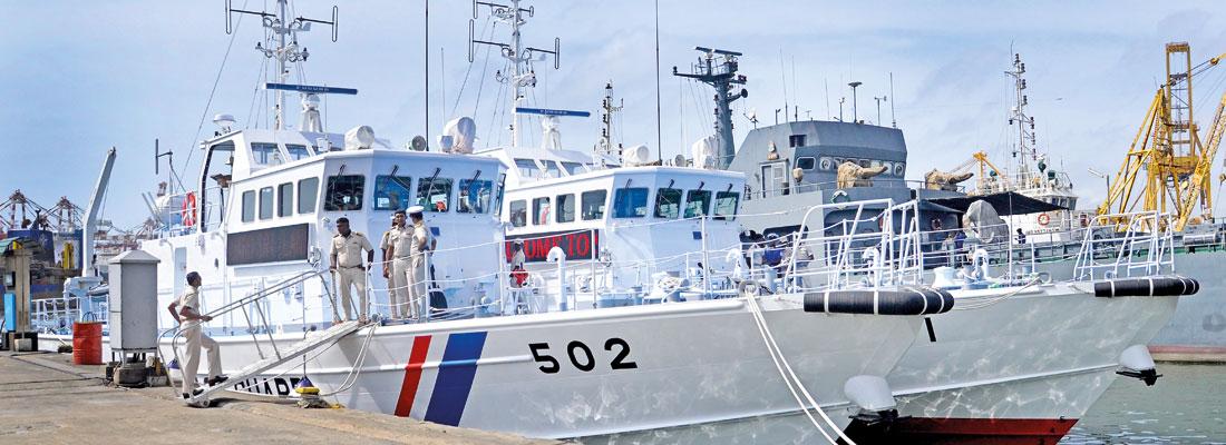 Two 'made-in-Japan' FPVs bolster  Sri Lanka Coast Guard