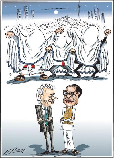 Pol corr cartoon1 in sri lankan news