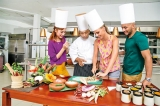 Chef Sunanda from Lodge Habarana is in Mumbai