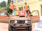 Lankan duo impress at Dakshin Dare Cross-country Rally