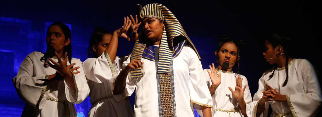 Magical performances at 'The Prince of Egypt'