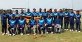 Visually handicapped Lankan cricketers runners-up