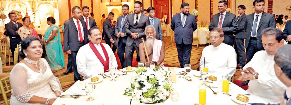 Mahinda gets mandate from SLPP and JO for talks on Caretaker Govt.