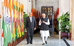 Modi wants more talks on pledges given to India
