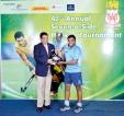 Commercial Bank  'A' lift 'Dennis De Rosayro' Trophy