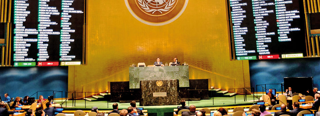 Will member states help offset US  funding cuts to UN?