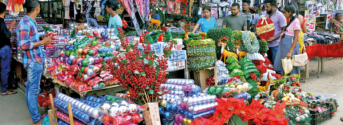 'People forgot Christmas because  of politics': Pettah traders' lament