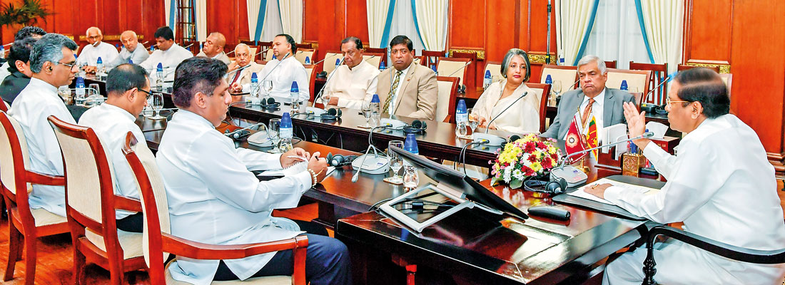 President rejects UNP's call to revive 'National Govt.'