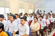 Peradeniya Management Faculty freshers welcomed