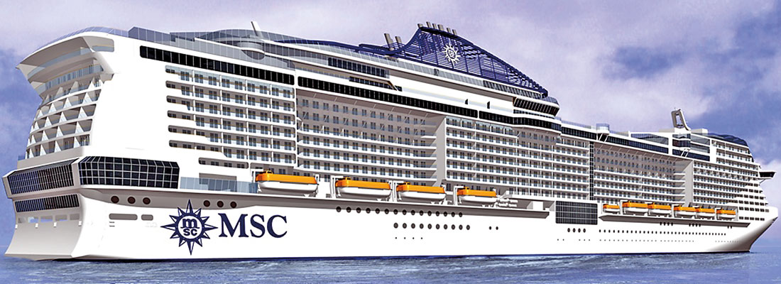 MSC Cruises call at Colombo Port