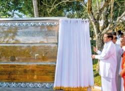 Historic day at Matale's Aluviharaya