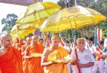Tripitaka declared a national heritage; history is made  again at Aluvihare Temple