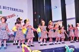 'Pretty little butterflies' of Jesmine Pre-school takes the stage