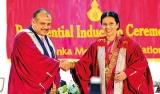 Dr. Anula Wijesundere inducted as SLMA president