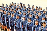 Over 650 cadets, airmen and airwomen pass out from SLAF Academy China Bay