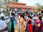 Parish Priest Blesses Pitipana Students for the New Year