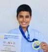Karate champion Lithum