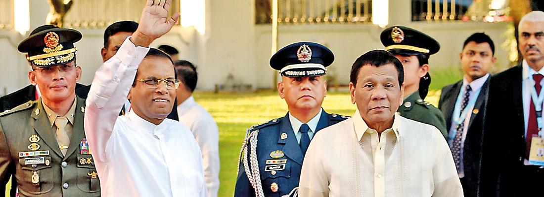 President's support for Duterte makes world headlines