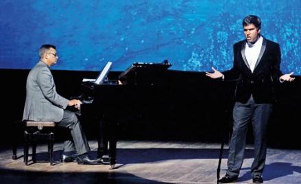 Rossini or Ganga Addara, he wowed the audience