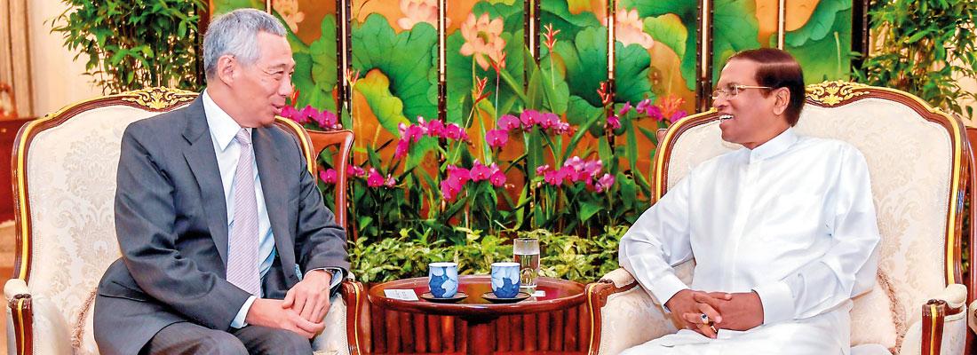 "Sirisena on a new anti-corruption drive amidst UNP concerns of  ""witch-hunt"""