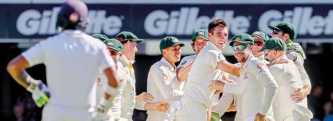 Cummins leads Australian rout of Sri Lanka