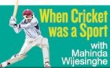 Test Cricket runs off an Aluminum bat….and more!