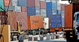 Customs work-to-rule sees containers pile up