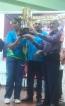 Senura and Bimandi win double titles