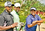 Sri Lankan pro golfers  tee off into new season