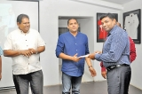 Certificates presented to participants of Rugby Match Commissioner Programme