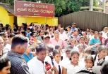 Parents protest Grade 5 Schol. Exam Achievers' Non-admission to popular Schools