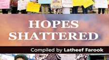 New book captures broken promises and failures of Maithri-Ranil Govt.