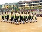 Cadet Parade at Walasmulla National School