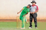 Karandeniya Central's Samith Isuru in sight of a rare double