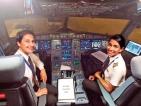 All female crew on UL flight