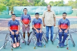 Sri Lanka wheelchair tennis team qualify for World Team Cup