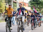 Richmond-Mahinda joint cycle parade