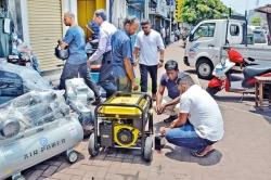 Power cuts boost generator sales