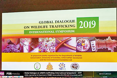 Global Dialogue on Wildlife Trafficking on Mar 15 at Colombo