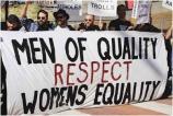 Women activists protest torture and imprisonment under repressive regimes