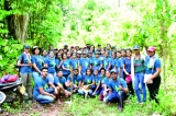With saplings and mammoties in hand, Law Goes Green goes to Matara