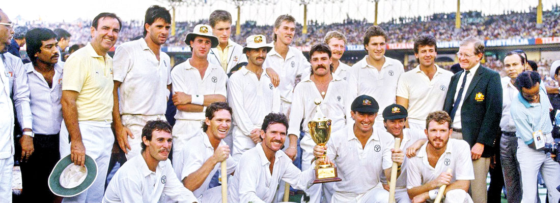 When Australia won the Cricket World Cup for the first time