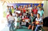 Dhuwarshan and Danushan  pull-off stunning wins and emerge junior golf champs