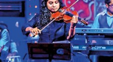 Thushani Jayawardena :  Sought after proficient violinist